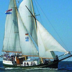 Meander comfortabel en veilig zeilschip