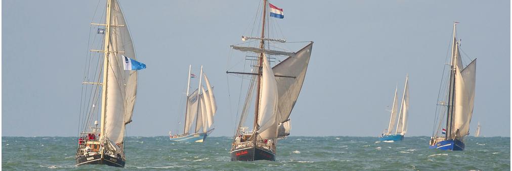 Zeilschip Meander neemt elk jaar deel aan The Race Of The Classics, Kielerwoche en Hansesail Rostock